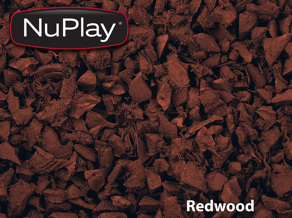 Rubber Mulch and Borders Backyard Playworld Omaha