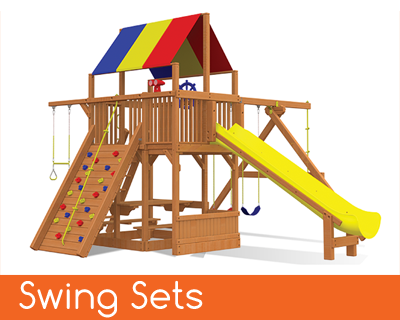 Rainbow Swingsets Backyard Playworld Omaha
